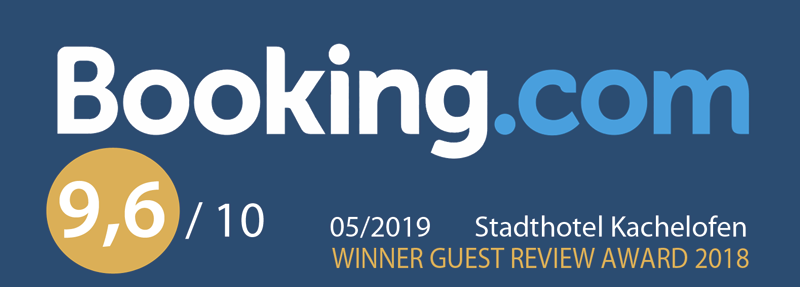 Stadthotel Kachelofen: Gewinner des Booking.com guest review awards
