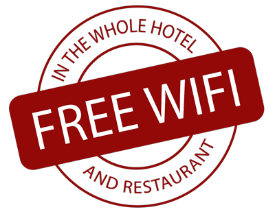 Free Wifi for all our guests